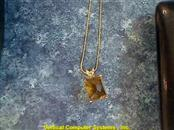 14KT CITRINE JEWELRY NECKLACE 14KT CITRINE